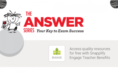 The Answer Series joins Snapplify's Teacher Benefits programme